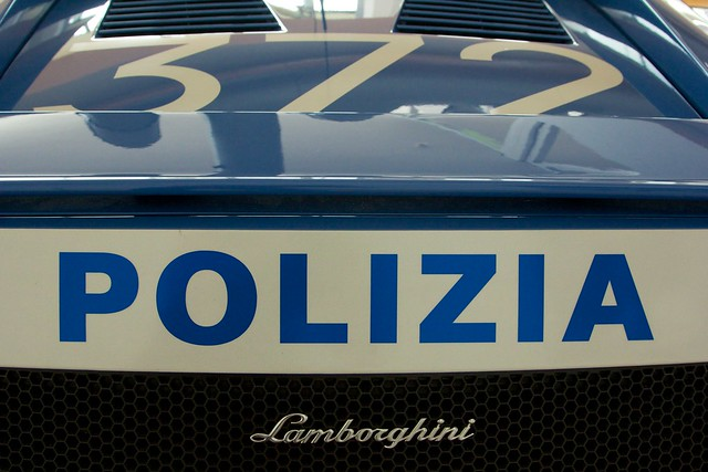 Italian Polizia Lamborghini Gallardo