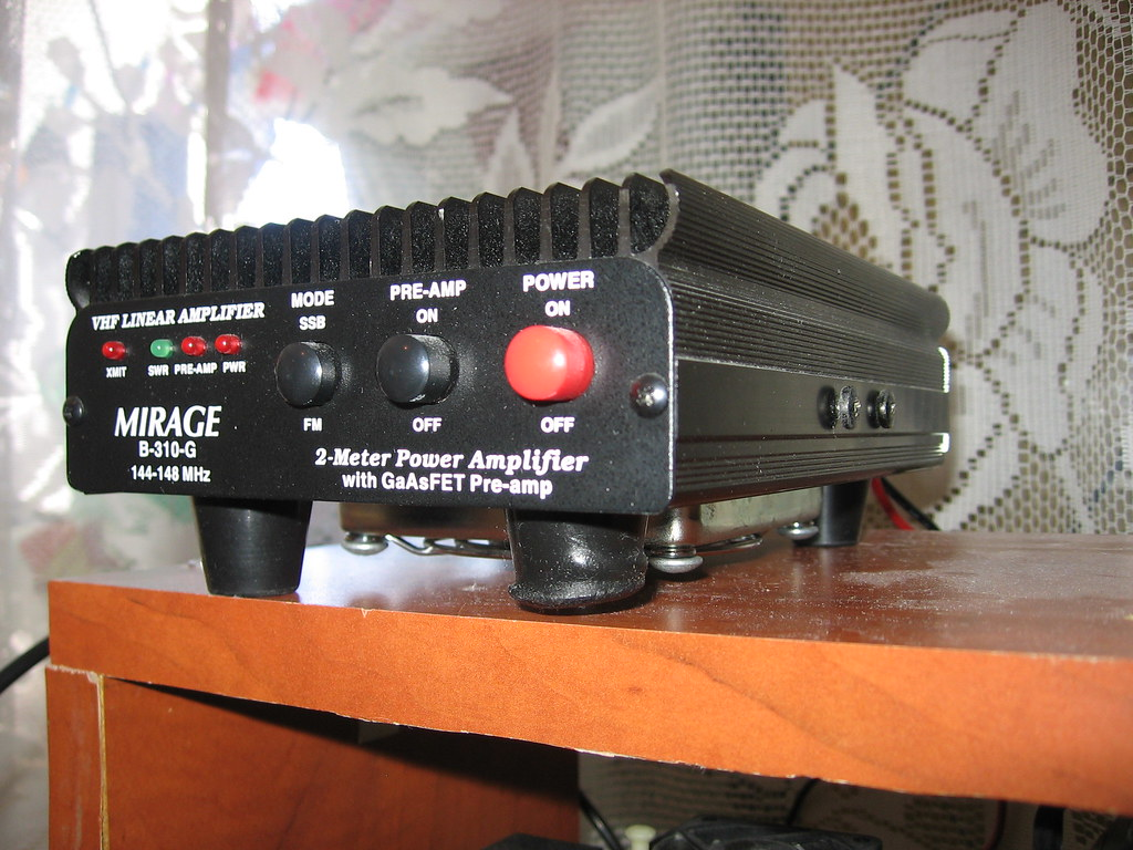 Mirage B-310-G 2m  amplifier | That is all for now ,        … | Flickr