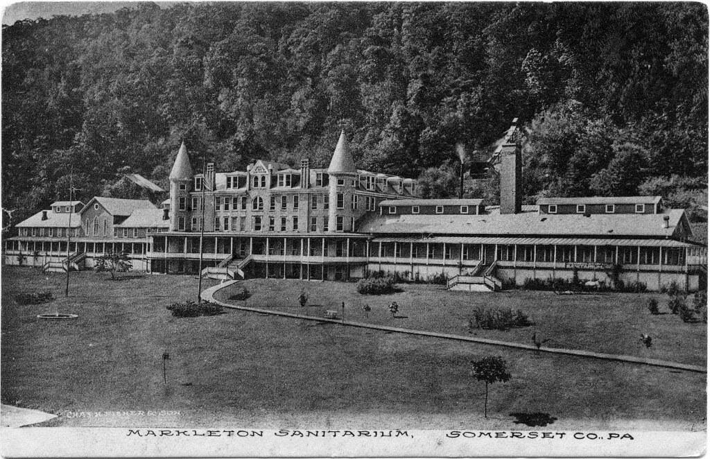 Markleton Sanitarium in Somerset Co , Pa  | Description: The
