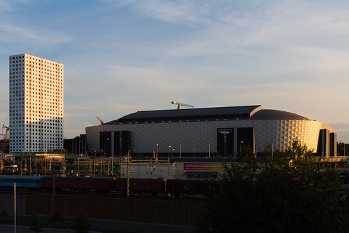 Friends Arena evening light | by Håkan Dahlström