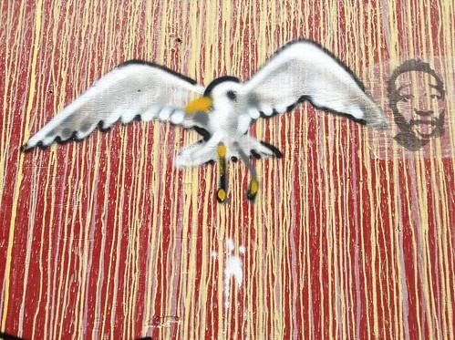 Cal Anderson mural - seagull