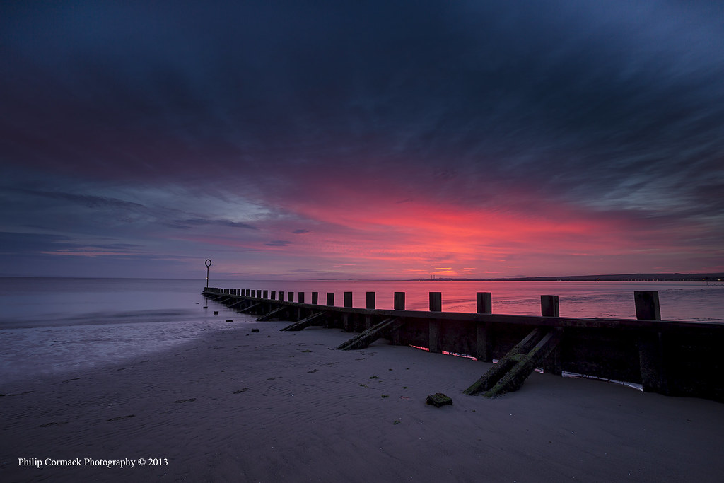 Sunrise at Portobello Beach