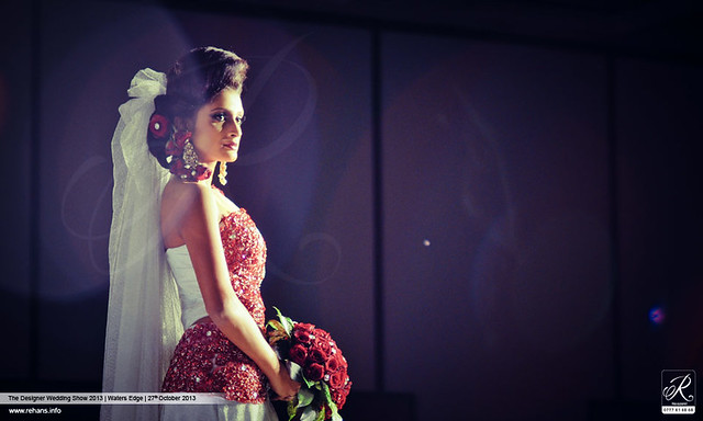 At the Edge of Glamour | The Designer Wedding Show 2013