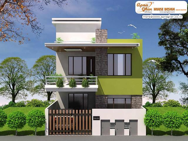 Contemporary Duplex House Designs Joy Studio Design