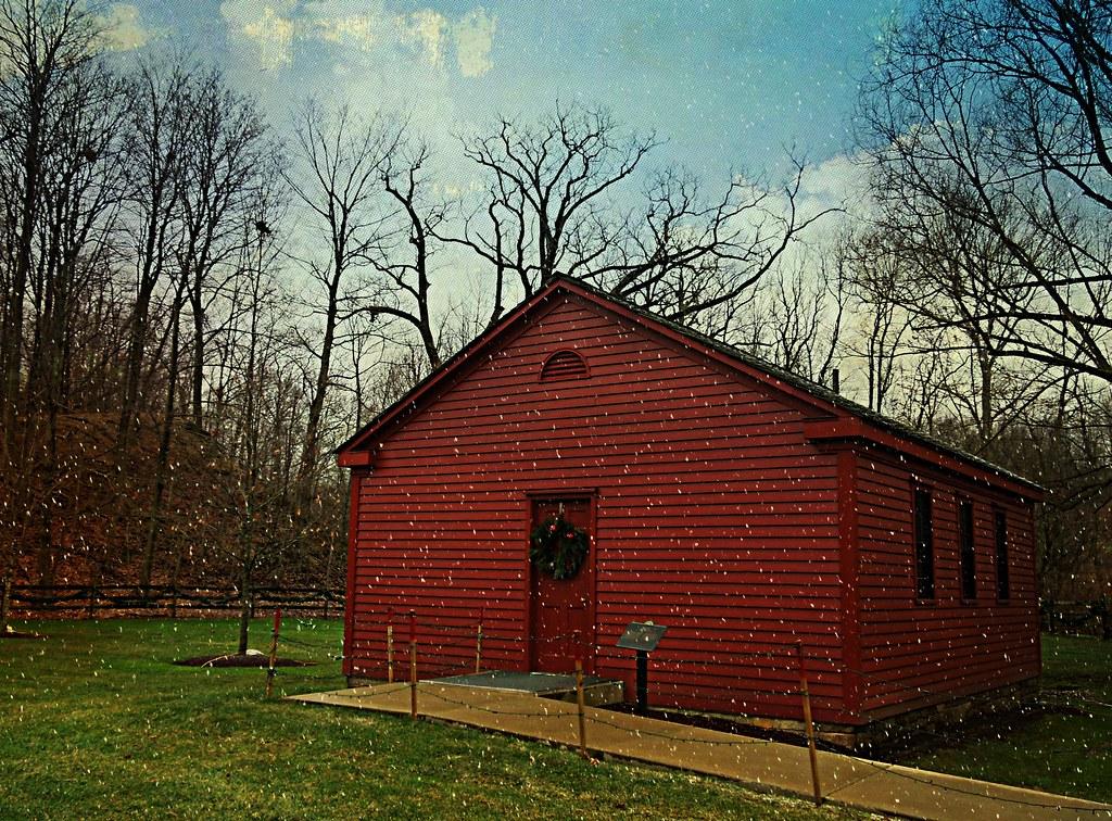 Little Red Schoolhouse - Kirtland, Ohio | This schoolhouse i
