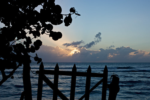 sunset beach gate jamaica treasurebeach afnikkor50mmf14d