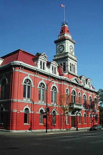 Victoria City Hall, Victoria, Vancouver Island, British Columbia, Canada