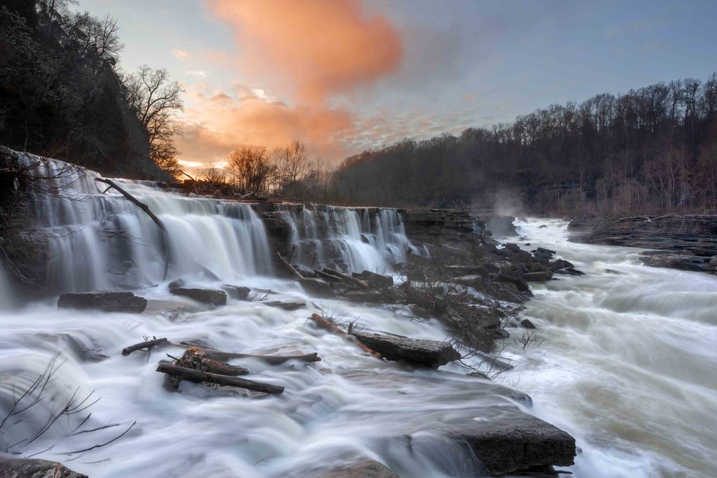 Lower Great Falls 1, Rock Island State Park, White and Warren County, Tennessee