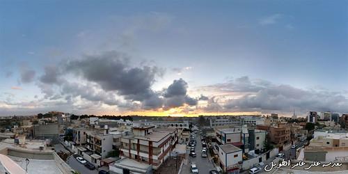 sunset tripoli photosphere babbenghashier