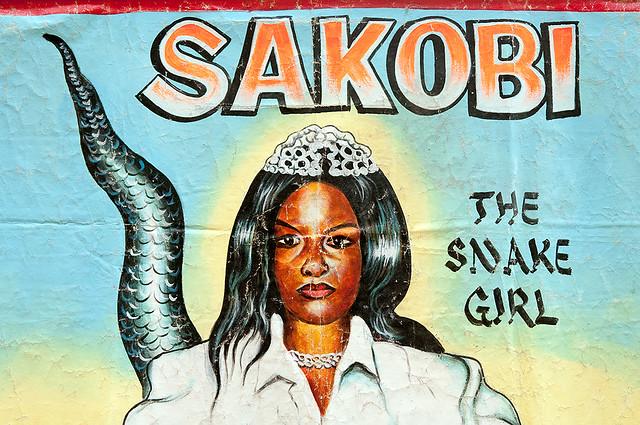 Sakobi. The Snake Girl (Nigeria) [Mr Brew Art]