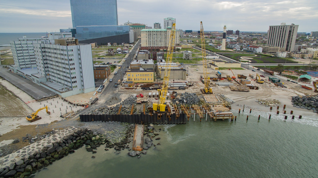 Absecon Inlet Seawall | The U S  Army Corps of Engineers and