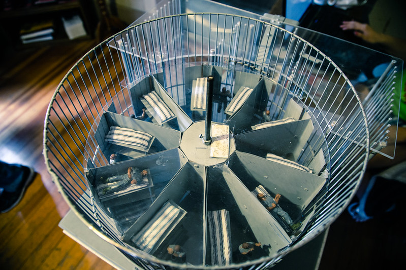 Squirrel cage jail model