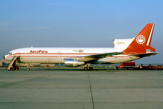 N10114 | Lockheed L.1011-100 TriStar | Aero Peru