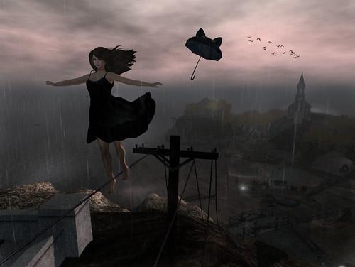 Fly, my umbrella