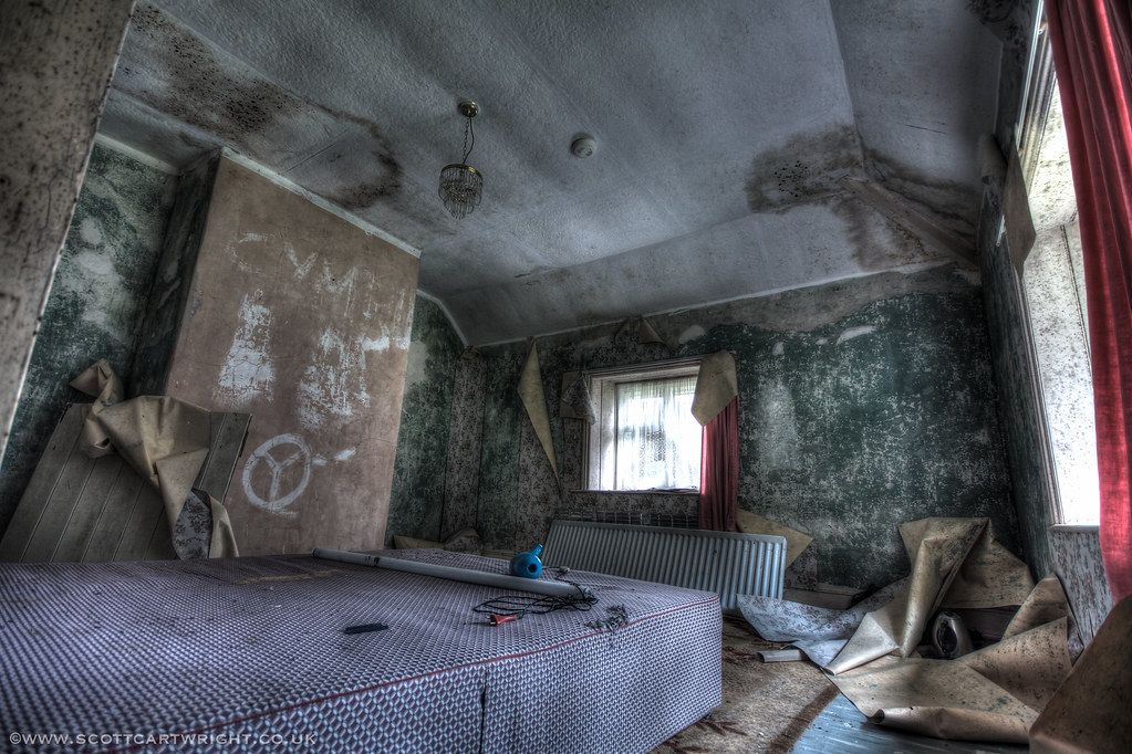 Abandoned Bedroom HDR