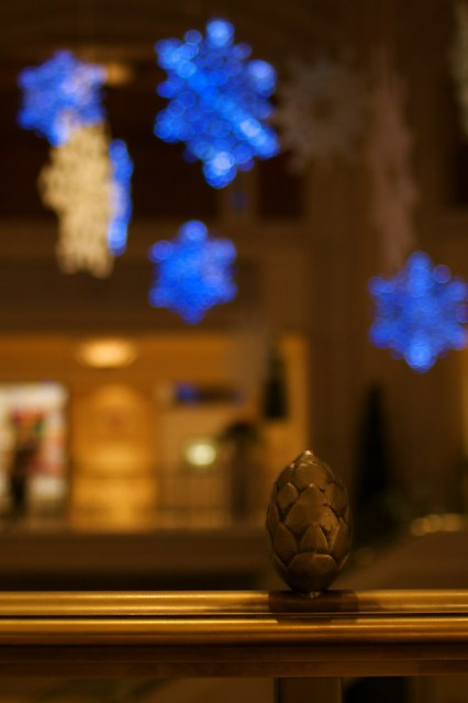 Snowflake Lanterns at The Venetian