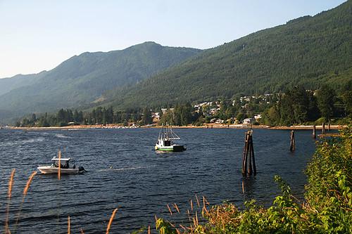 Port Alice, Neroutsos Inlet, Vancouver Island, British Columbia, Canada