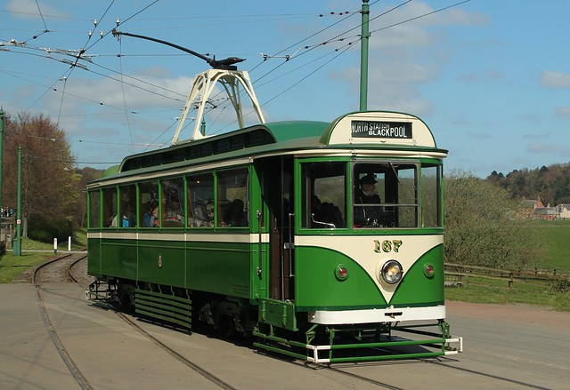 Trams: Blackpool Transport: 167 Beamish Open Air Museum