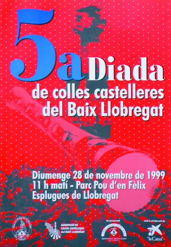 035. Concurs de cartells per a la V Trobada del Baix a Esplugues, 1999 | by Cargolins