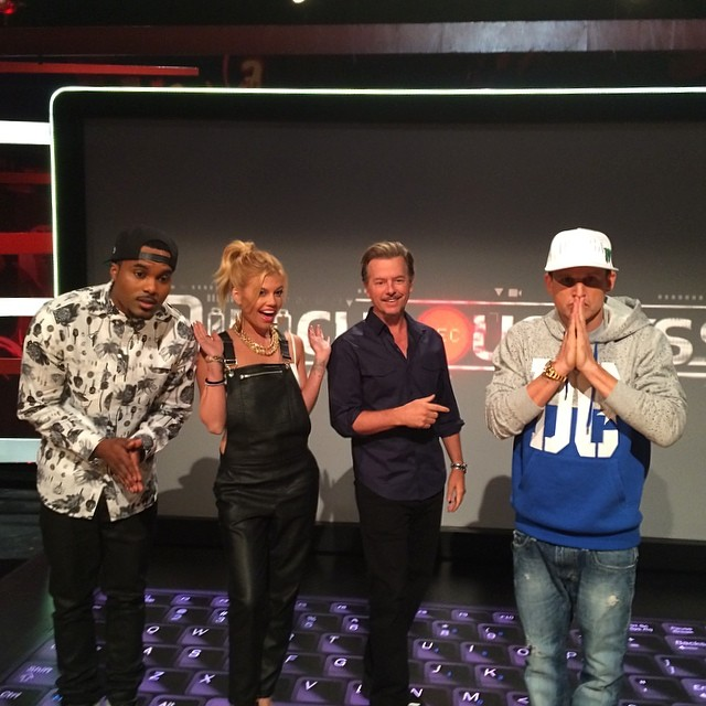 Today's guest, @davidspade! #ridiculousness | via Instagram