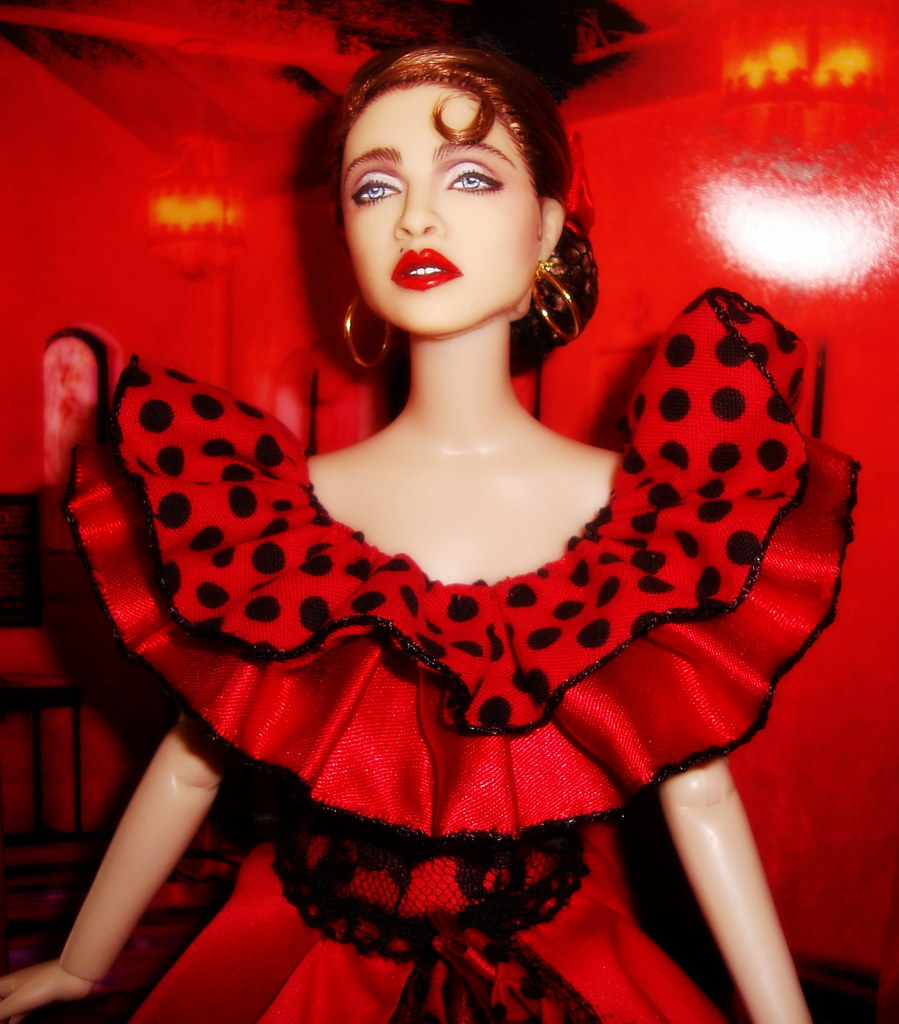 Madonna La isla Bonita   MADONNA La Isla bonita doll By Cygu