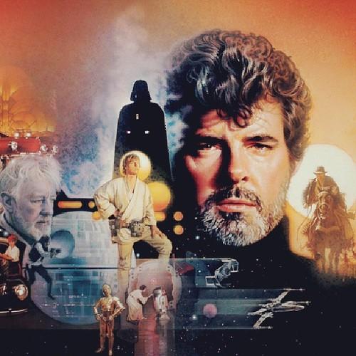 Happy birthday George Lucas! #StarWars #GeorgeLucas