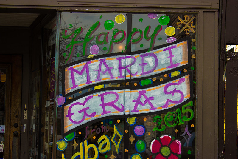 Mardi Gras Day, February 17, 2015, New Orleans, Louisiana