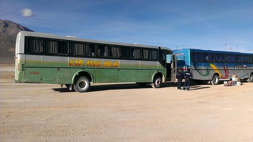 Bolivianischer Bus