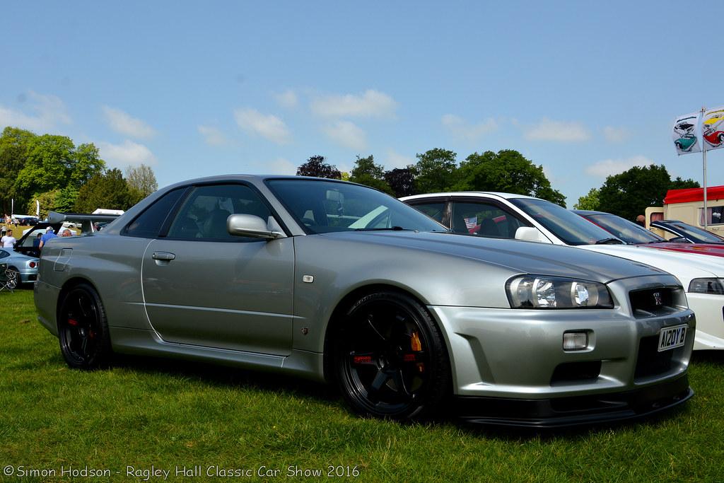 2016 Nissan Skyline >> Ragley Hall Classic Car Show 2016 Nissan Skyline R34 Gtr Flickr