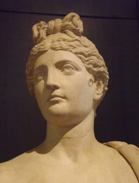 Detail of a Statue of a Genius with a Cornucopia in the Capitoline Museum, July 2012