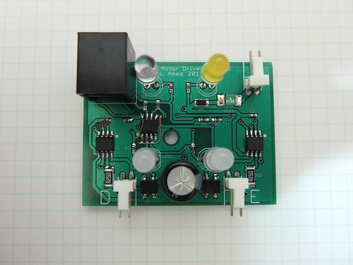 NXT Motor Driver - PCB | by Nick Ames