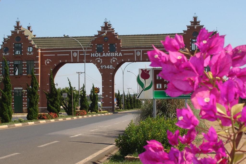 Holambra Cidade Das Flores Holambra Faz Juz Ao Título De