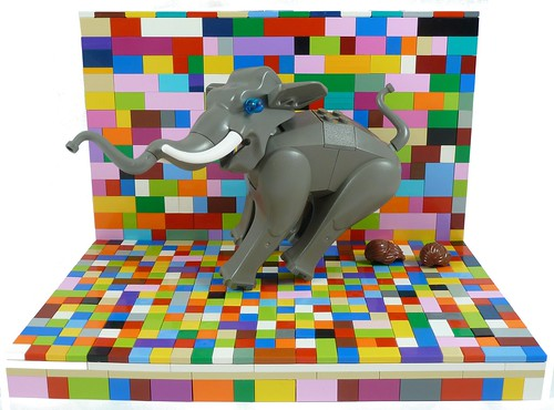 Colourful Number Two ! (Elmer The Patchwork Elephant's Cousin)