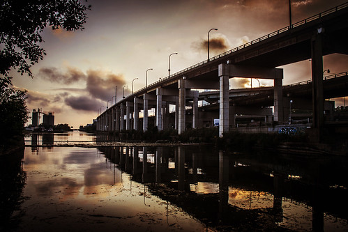 The Gardiner and The Don River | by Ashton Emanuel