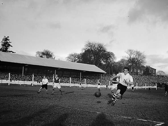 Merthyr v Ipswich football match