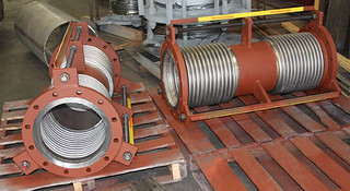 Tied Universal Expansion Joints Designed for a Vapor Line Used for Rail Car Loading | by Pipe Supports and Expansion Joints