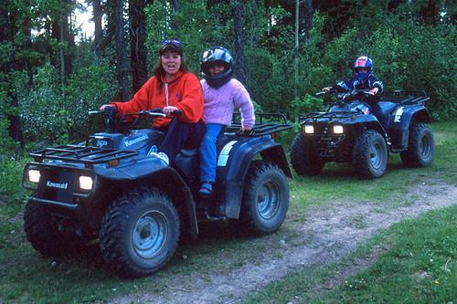 ATV Riding in Tumbler Ridge, Northern British Columbia, Canada