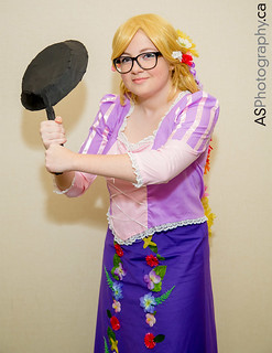 Rapunzel from Tangled by The Bomb Diggity Cosplay at con-G 6
