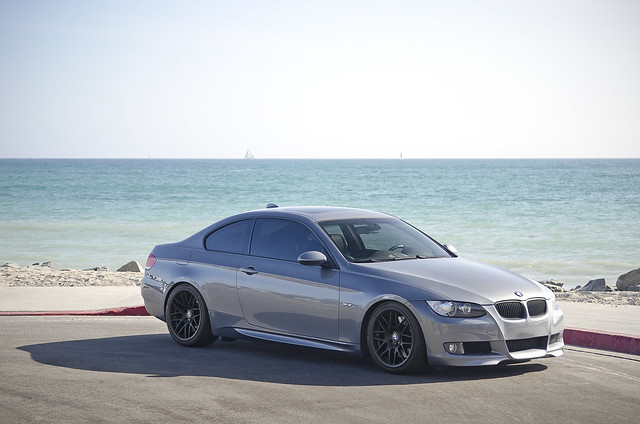 BMW 335i Coupe on VRM V703 Wheels