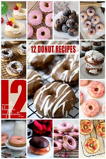 12 Donut Recipes #12bloggers | by lovebakesgoodcakes