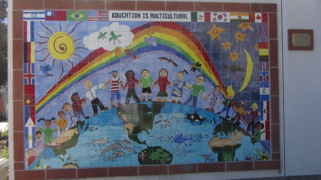 IMG_9609 isla vista elementary school tile wall poster