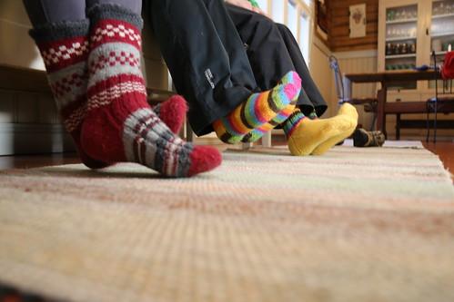 sukat retkelle lähdössä | by VisitLakeland