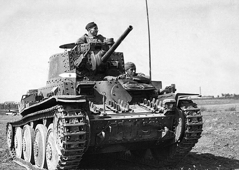 Yugoslavian Panzerkampfwagen 38(t)