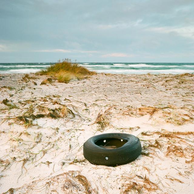Flat Tire - Kodak Ektar 100