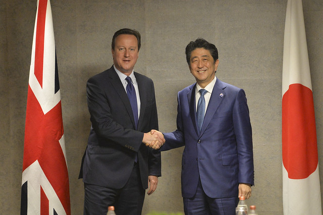 PM and PM Abe meet for bilateral talks