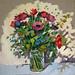 Valentine's day, 40x40cm, Oil on linen