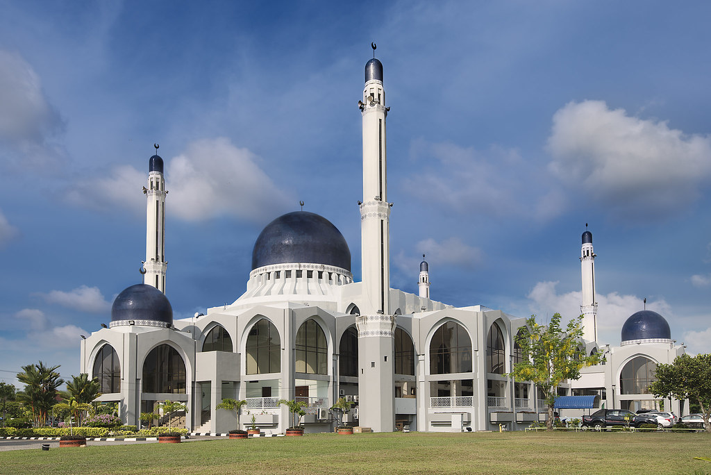 Al Sultan Ismail Petra Mosque Kota Bharu Kelantan Malays Flickr