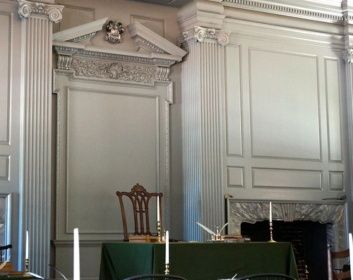 George Washington's Chair - The Assembly Room - The Independence Hall - Philadelphia, PA, USA. | by Esoteric_Desi