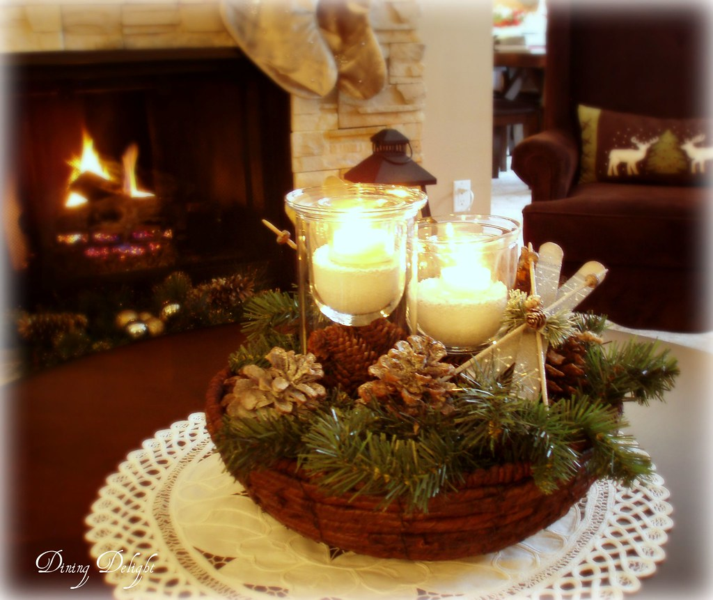 Christmas Coffee Table Centerpiece Dining Delight Flickr