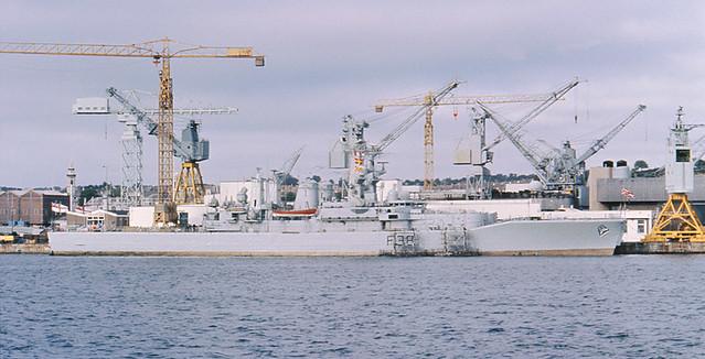 HMS Arethusa Refit